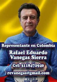 Representante en Colombia - Rafael Vanegas