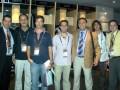 Huevo Sánchez  Album: Finales NBA 2007  En el vesturio de los Spurs: Alvaro Martin, Miguel Romano, Miguel Bossio, Julián Mozo, Oscar Sánchez, Mariano Sánchez y Carlos Morales