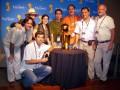 Huevo Sánchez  Album: Finales NBA 2007  Con la prensa Argentina