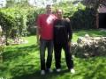 Huevo Sánchez  Album: Euroliga 2008  En Madrid con mi amigo Hernan Jasen