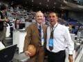 Huevo Sánchez  Album: Euroliga 2008  Con el Maestro de Dean Peterson (Dt Billy Milano 83) mi primer maestro en Europa