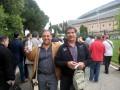 Huevo Sánchez  Album: Euroliga 2011  Con Mi amigo Manolo Flores ( Barcelona) en Final Four