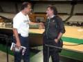 Huevo Sánchez  Album: Euroliga 2011  Con Pepu Hernadez ( Ex campeon Mundial como entrenador de España en Mundial japon)