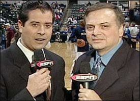 Props to jeff van gundy what a refreshing commentator - Antonio martin morales ...